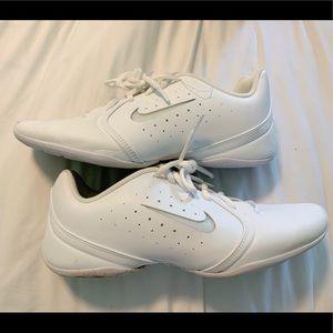 White nike cheer shoes
